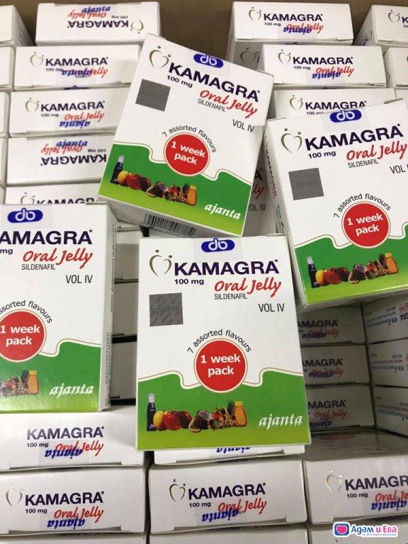 Камагра гел ( Kamagra oral jelly )