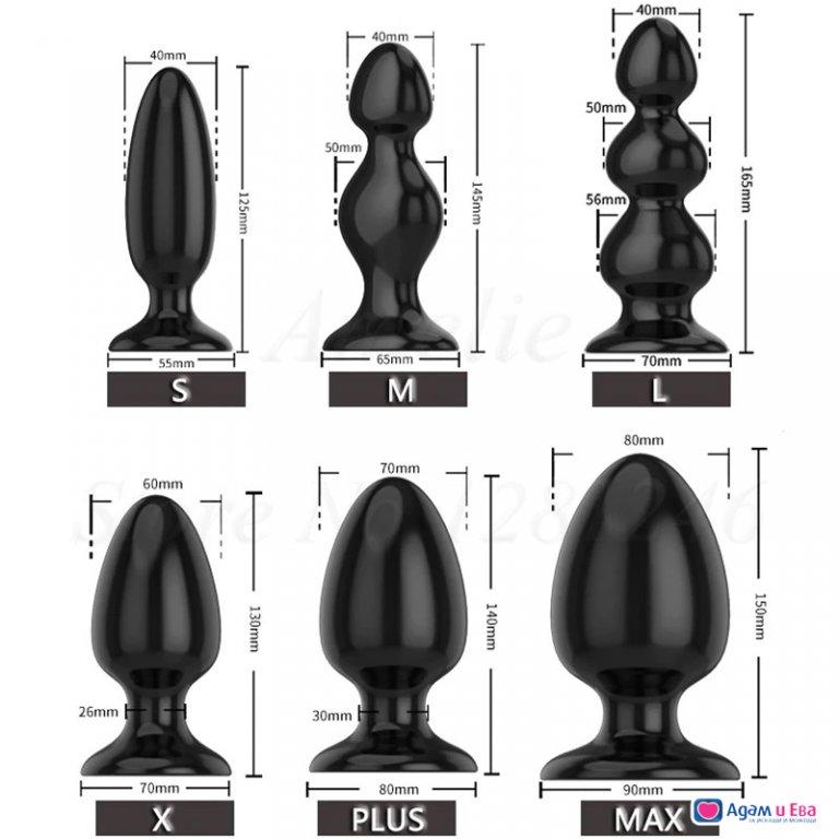 Семейство анални разширители шест размера