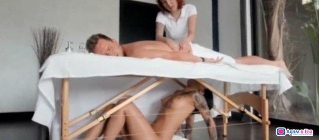 Milking massage+secret blowjob, снимка 1