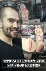 Путката на Алексис Тексас отливка на вагина от Секс Шоп Еротика