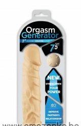 Вибриращ 18 сантиметров пенис удължител / накрайник - Orgasm Gen