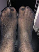 Foot fetish - ароматни чорапи